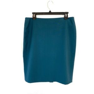 Anne Klein Turquoise Pencil Skirt